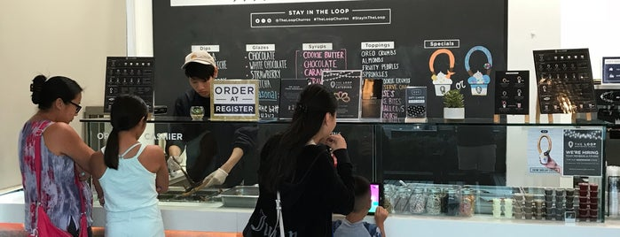 The Loop Handcrafted Churros is one of Anaheim.