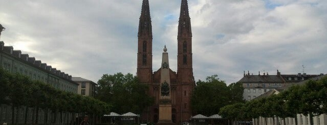 Luisenplatz is one of Mainz♡Wiesbaden.