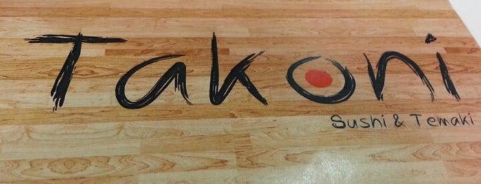 Takoni is one of Sushi Work Place.