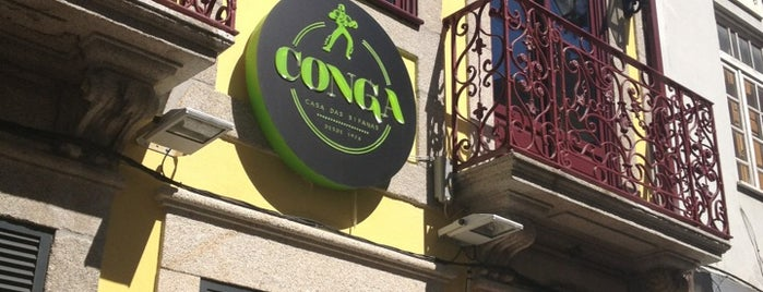 Conga - Casa das Bifanas is one of Restaurantes.