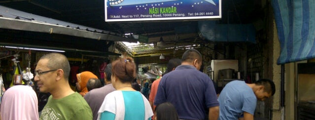 Nasi Kandar Line Clear is one of Must-visit Food in Kuala Lumpur.
