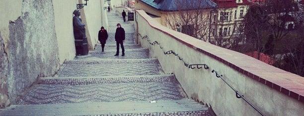 Old Castle Steps is one of Prague.