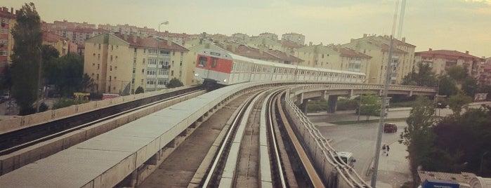 Batıkent Metro İstasyonu (M1 & M3) is one of Ankara Metro İstasyonları | Ankara Subway Stations.