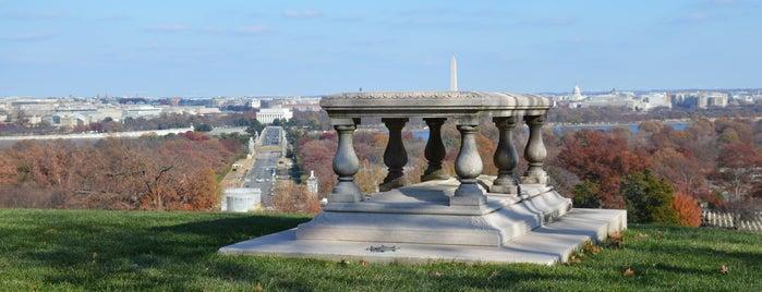 Pierre Charles L'Enfant Grave is one of Washington, DC.