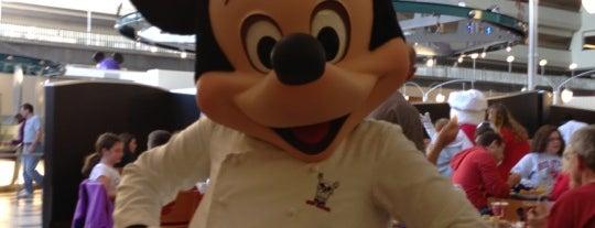 Chef Mickey's is one of Walt Disney World.