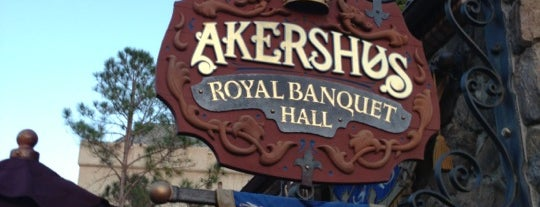 Akershus Royal Banquet Hall is one of Walt Disney World - Epcot.