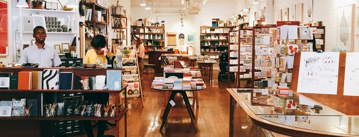 McNally Jackson Store: Goods for the Study is one of Hit List: New York.