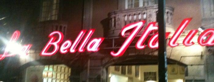 La Bella Italia is one of Guía de barrio, Ciudad de México.