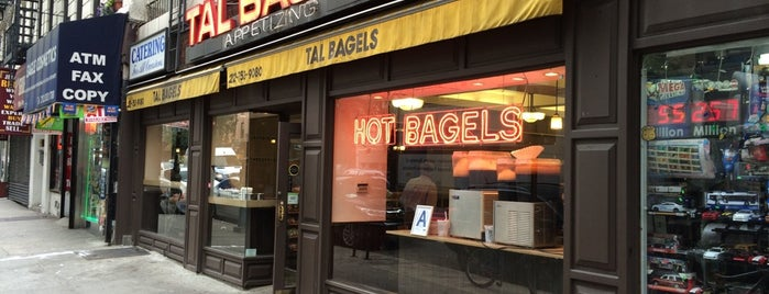 Tal Bagels is one of NY Bagels to Try.