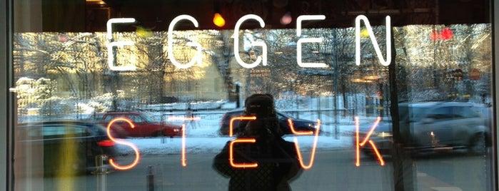 Vassa Eggen Restaurant is one of Bars.
