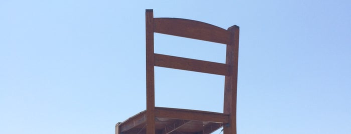 Gigantic-Assed Chair is one of Nikki Kreuzer's Offbeat L.A..