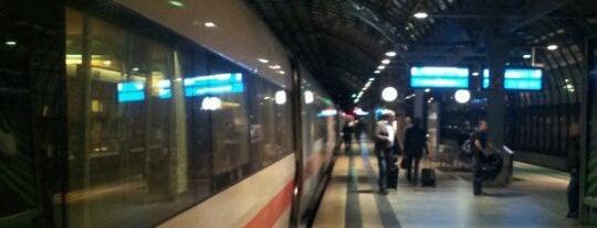 Bahnhof Berlin-Spandau is one of DB ICE-Bahnhöfe.