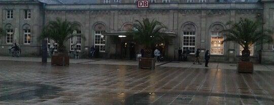Bahnhof Göttingen is one of Bahnhöfe DB.