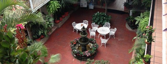 Hotel Posada de Roger is one of Puerto Vallarta Hotels.