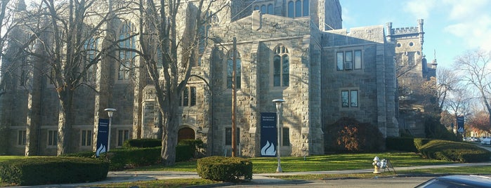 The College of New Rochelle is one of My Places.