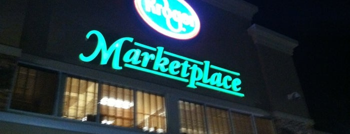 Kroger Marketplace is one of places.