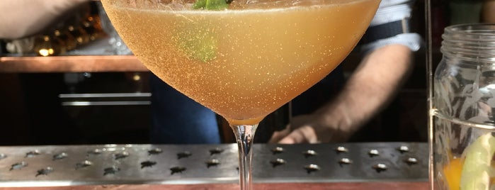 The Gibson is one of The World's 50 Best Bars.