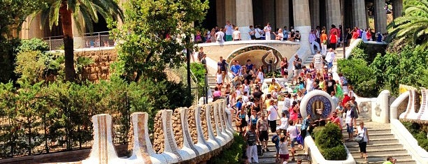 Parque Güell is one of Go Ahead, Be A Tourist.