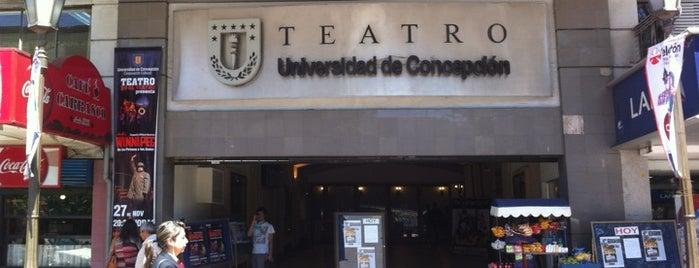 Teatro Universidad de Concepción is one of Penquista de corazón <3.