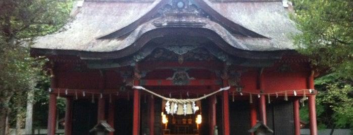 六所神社 is one of 三河武士を訪ねる岡崎の旅.