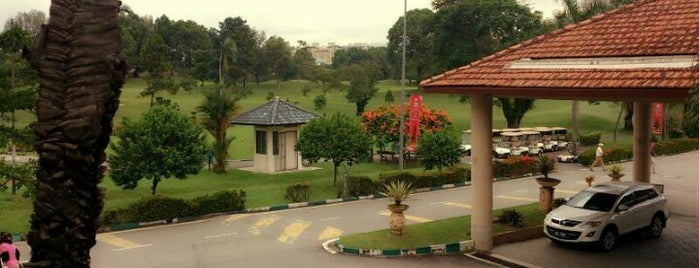 Kelab Golf Negara Subang (National Golf Club) is one of F&B.