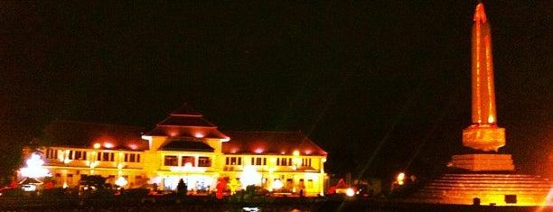 Taman Tugu Balai Kota Malang is one of must to visit in malang city.
