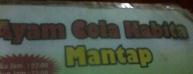 Ayam cola gelap nyawang is one of Favorite Food.