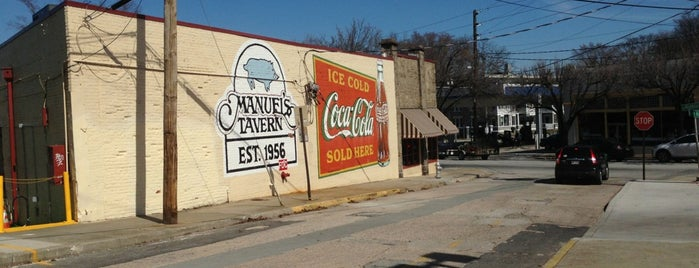Manuel's Tavern is one of Places I Visit : Atlanta.