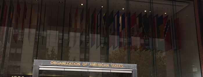 Organization of American States is one of DC's favorites.