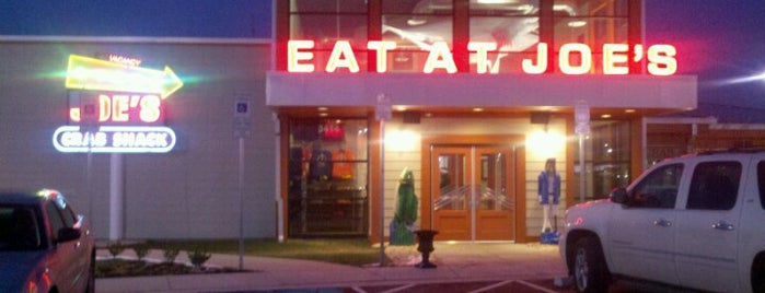 Joe's Crab Shack is one of 20 favorite restaurants & more.