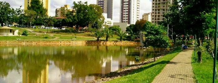 Parque Lago das Rosas is one of Pontos Turisticos Essenciais Goiania.