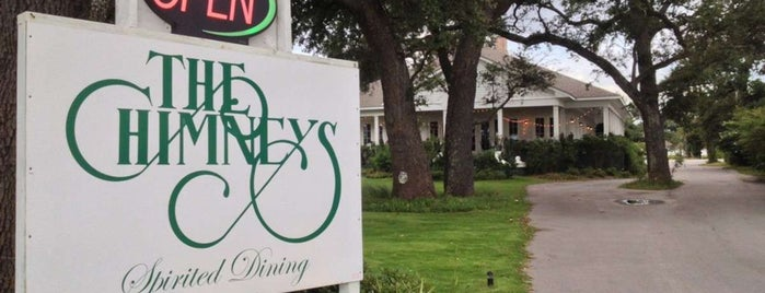 The Chimneys is one of Eateries Bon Apetit!.