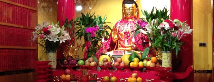 Mahayana Buddhist Temple is one of NY.