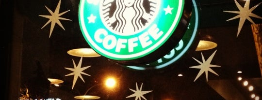 Starbucks Coffee is one of Restaurants i Bars.
