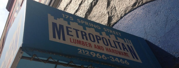 Metropolitan Lumber and Hardware is one of Fixer Upper (NY).