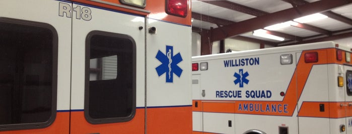 Williston Rescue Transport Station is one of faves.