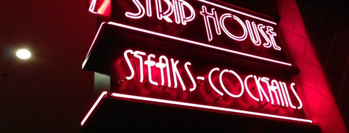 Strip House is one of Manliest Restaurants 2012.