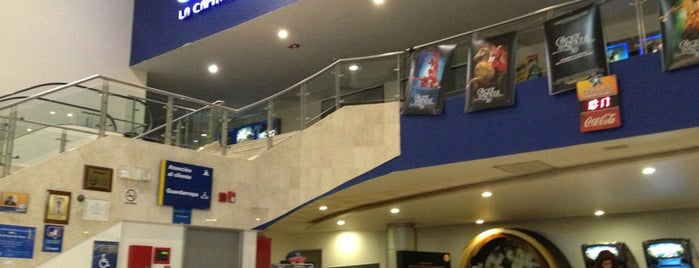Cinépolis is one of LuisMi.