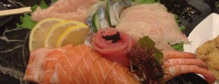 Raku Sushi is one of Tahoe Road Trip Dinners.