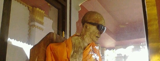 The Mummified Monk is one of Thailand.