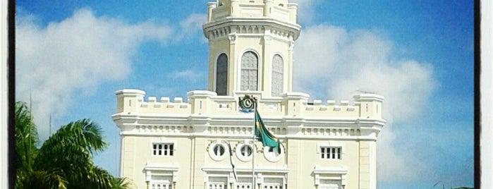 Quartel do Comando Geral da Polícia Militar de Pernambuco is one of Via pública.
