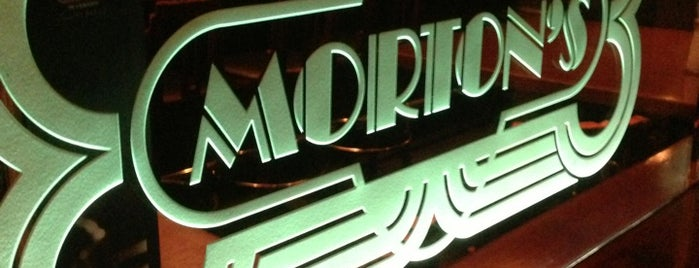 Morton's The Steakhouse is one of Hong to da Kong.