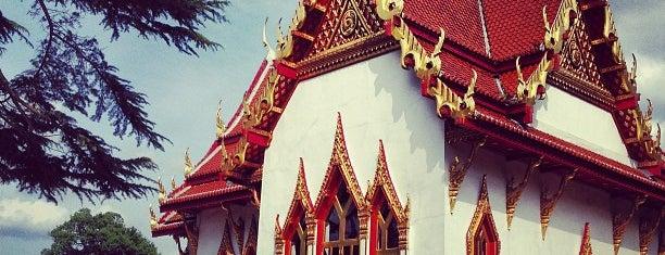 Buddhapadipa Thai Temple is one of Wimbledon walk.