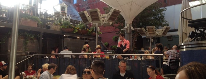 Jardin Nelson is one of Best Terrasses in Montreal.