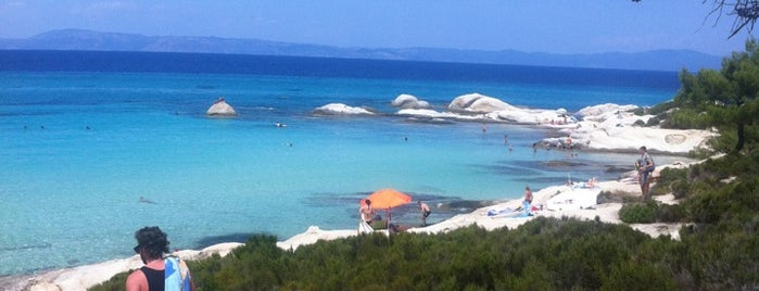 Portokali is one of 🌞🌊Chalkidiki-->to The Beach 🐋🐬🐟🐠🐡🦀.