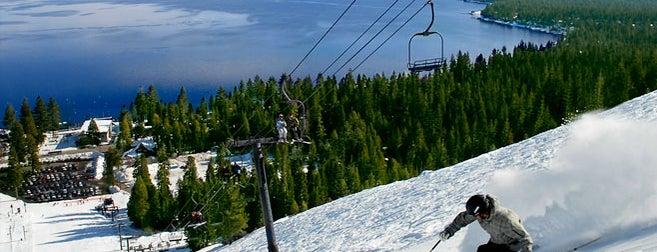 Homewood Ski Resort is one of Top Ski Areas in Tahoe.