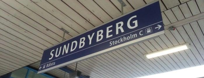 Sundbyberg (J) is one of vanliga ställen.