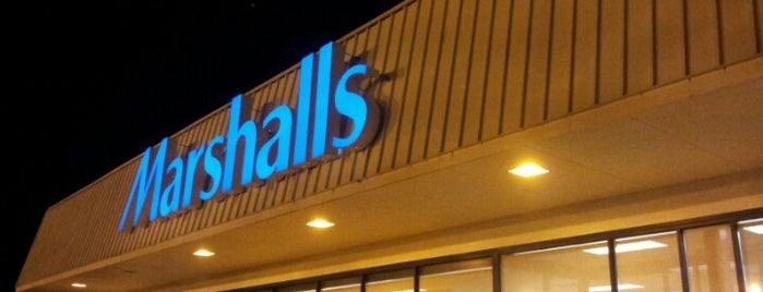Marshalls is one of Regular places visited.