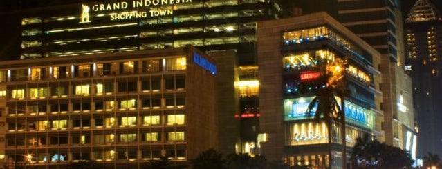 Grand Indonesia Shopping Town is one of Top 5 Malls in Jakarta.