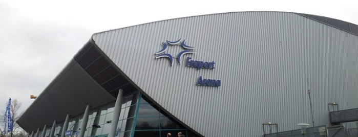 Fraport Arena is one of European places I've visited..